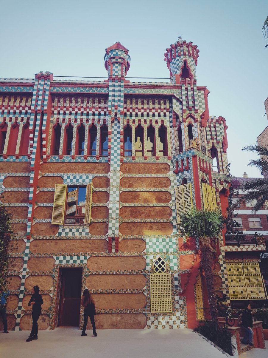 visite de la casa vicens  u2013 voyages  food  u0026 city guides
