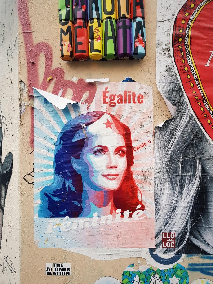 Paris : Une balade street-art et féministe avec Feminists of Paris